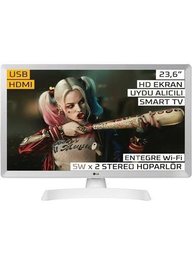 LG LG 24TL510S-WZ 23.6 inc 61 Ekran Smart Uydu Alıcılı LED TV Monitör Renkli